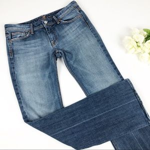 7 for all Mankind Flynt Bootcut Medium Wash Sz 30